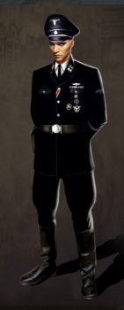German Officer – Video Game Character Concept