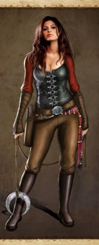 Gypsy Huntress – Video Game Character Concept