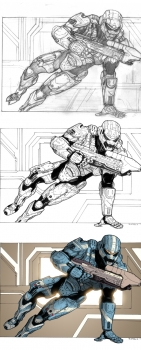 Halo 4 Spartan Fan Art
